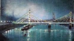 Albert Bridge by Mary Swan