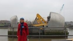 Visiting the Thames Barrier